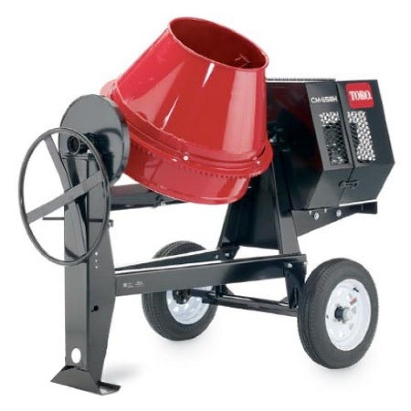 9 cu ft gas concrete mixer stone 8hp cm 958h s by toro for Yamaha mixer replacement parts