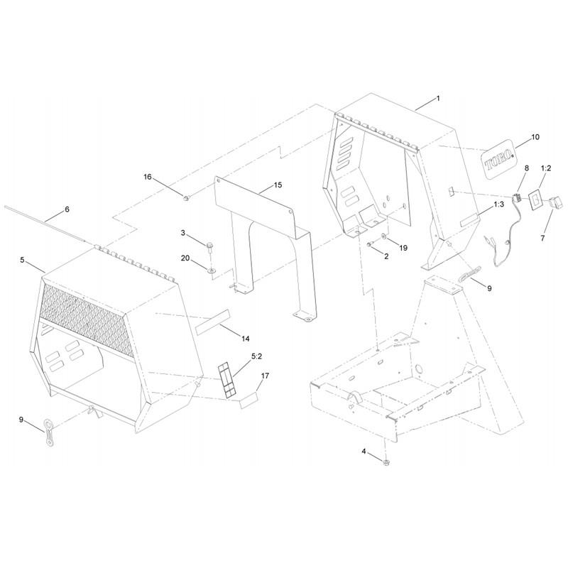 CM-958H-SED-C-COWL