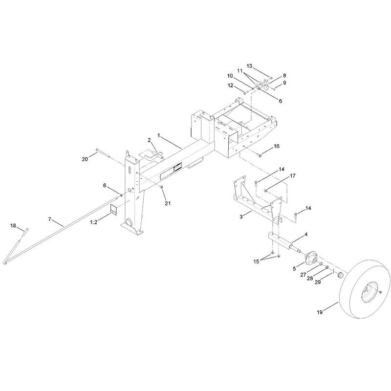 MMX-1158H-S-AXLE